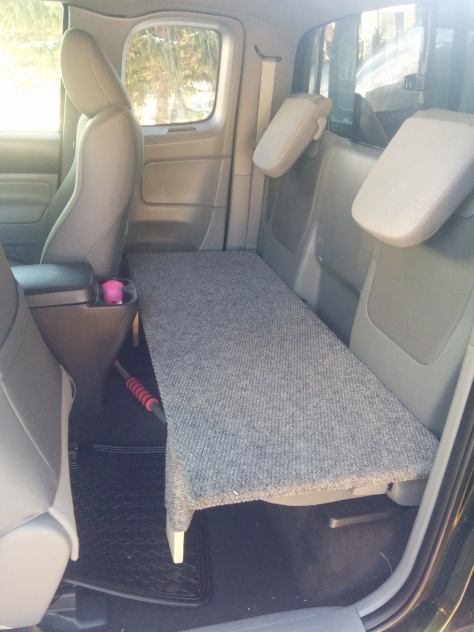 Diy How To Build A Dog Bench For Access Cab Tacoma S